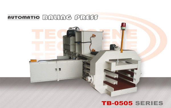 Automatic Horizontal Baling Press Machine Tb 0505 Series